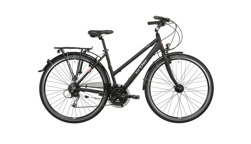 Ortler Mainau Cykel Damer sort